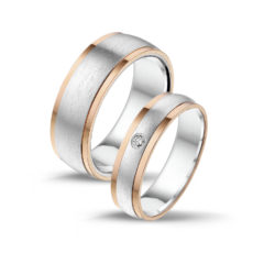 Silver Rosé Gold Five