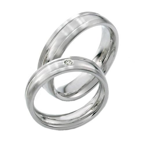 Rings of Sweden Silver Diamonds