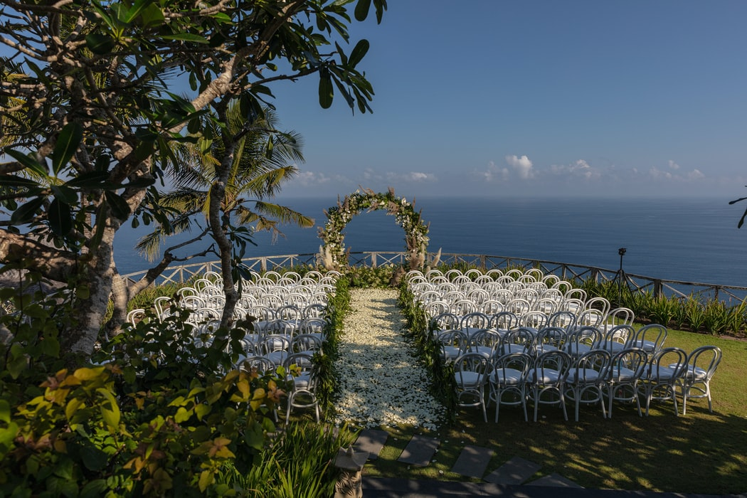 bröllop stranden